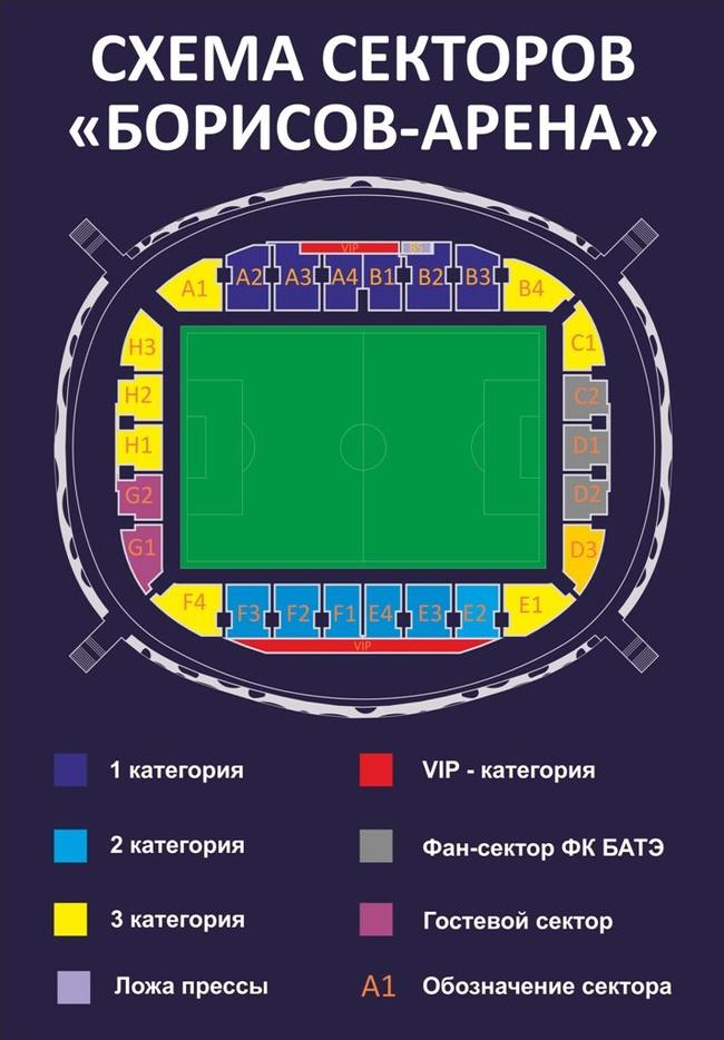 Борисов Арена схема