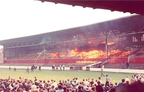 Пожар на Сити Граунд