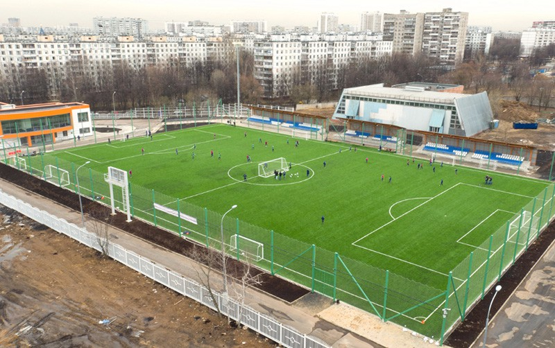 Размер футбольного поля