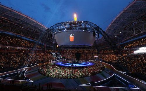 Церемония закрытия Универсиады-2013