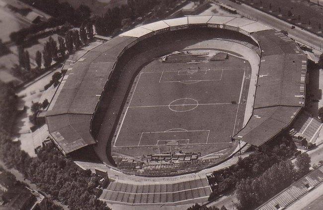 Парк де Пренс в 1960-е годы