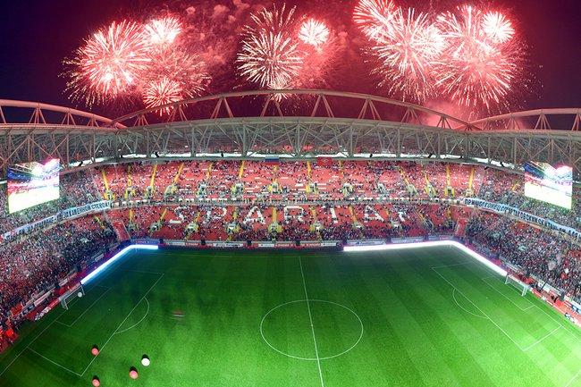Церемония открытия стадиона Спартака