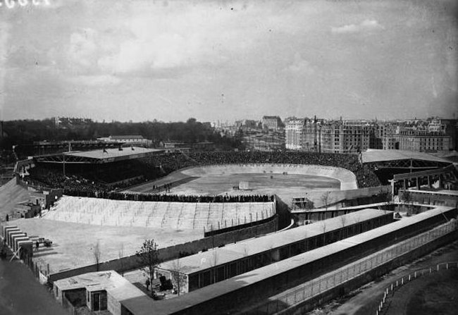 Парк де Пренс после реконструкции 1932 года