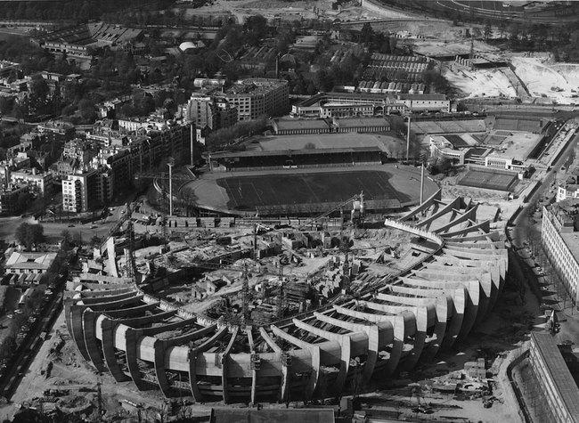Строительство нового Парк де Пренс
