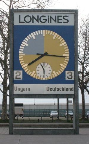 Часы со стадиона Ванкдорф