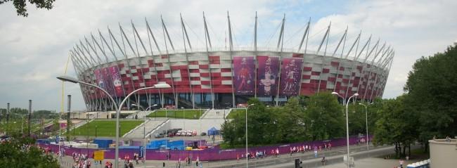 Национальный стадион во время Евро-2012