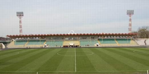 Тернопольский городской стадион перед последней реконструкцией