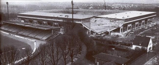 Вестфаленштадион в 1974 году
