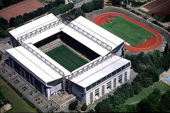 Вестфаленштадион перед последней реконструкцией