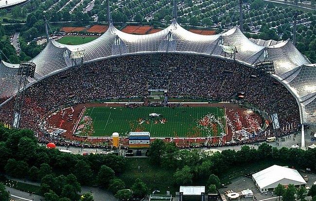 Олимпиаштадион Мюнхен