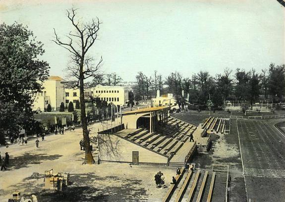 Стадион имени С. Дарюса и С. Гиренаса в 1950-е годы