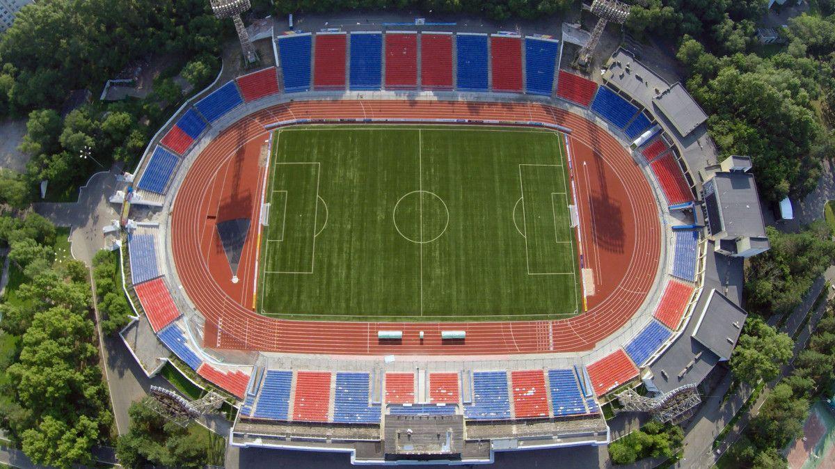 Стадион имени Ленина Хабаровск