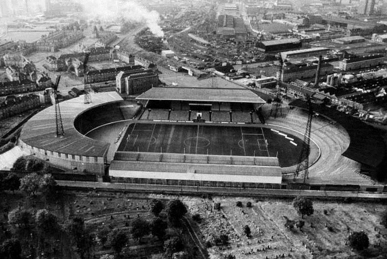 Селтик Парк в 1981 году